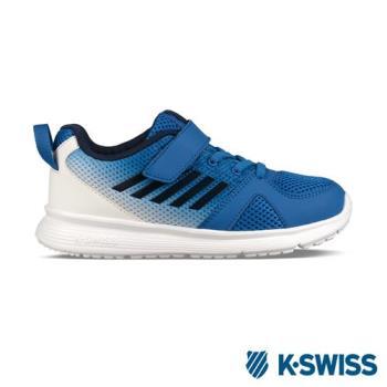 K-Swiss Bounce Lite VLC休閒運動鞋-童-藍/白