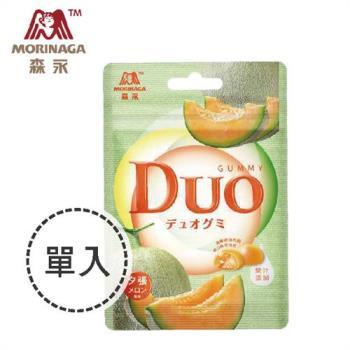 任-森永 DUO嘟歐雙層QQ軟糖-夕張哈密瓜 40g x1入