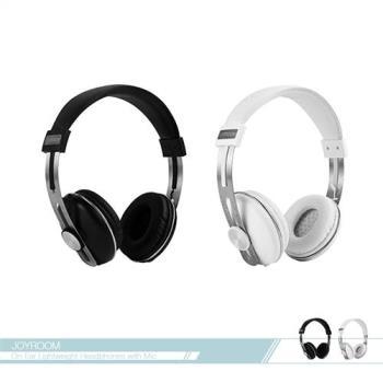 JOYROOM機樂堂 多功能 頭戴耳罩可調式耳機 (HP768) 3.5mm各廠牌適用/ 線控接聽鍵/ 免持聽筒