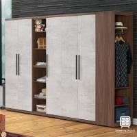 漢妮Hampton西蒙系列9.2尺組合衣櫥