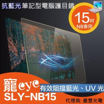 15吋 抗藍光 筆電 護目鏡 (SLY-NB15)