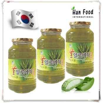 新鮮味 韓國 蜂蜜蘆薈茶1公斤*3入