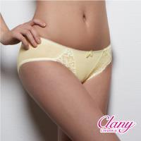 任-【可蘭霓Clany】舒活蕾絲透氣M-XL內褲(初暮黃 5267-71)