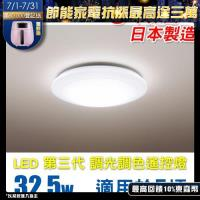 Panasonic 國際牌 LED (第三代) 調光調色遙控燈 HH-LAZ3034209 (全白燈罩) 32.5W 110V