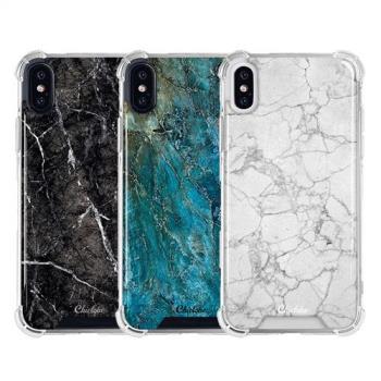 Chiclobe Apple iPhone X 反重力防摔殼 - 大理石系列