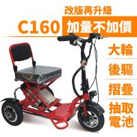 Suniwin 尚耘國際折疊三輪電動車c160/ 迷你電動車/ 老年代步車/ 出遊代步車