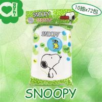 SNOOPY史努比 綠茶濕紙巾/柔濕巾(10抽x72包/箱)