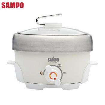 【SAMPO聲寶】1.1L不鏽鋼電火鍋 TQ-L12112GL