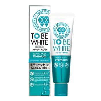 TO BE WHITE 2倍瞬白精華清新牙膏 60g