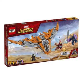 【 樂高積木 LEGO 】《 LT76107 》SUPER HEROES 超級英雄系列 -Thanos: Ultimate Battle