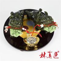 招財功名事業運青玉貔貅擺陣 林真邑