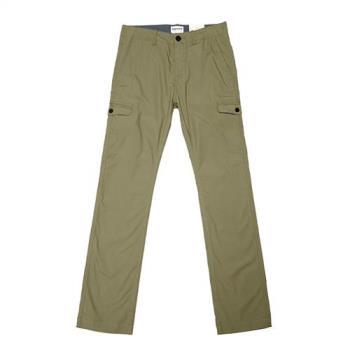 Timberland男款藻綠色SquamLake輕量直筒彈性工作長褲A1LUUI58