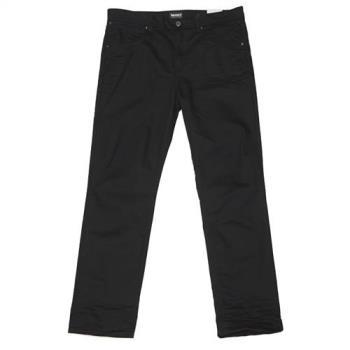 Timberland男款黑色水洗單寧長褲A1M44L68