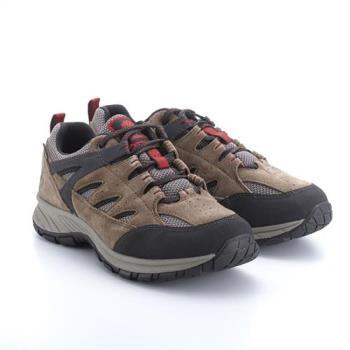 Timberland男款棕色低筒防水戶外登山休閒鞋A1PG3838