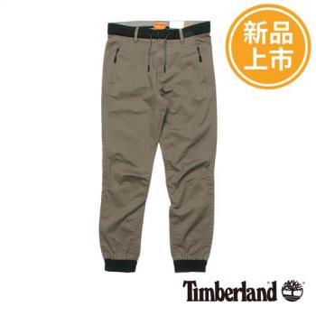 Timberland男款深灰色Waukwevan縮口褲A1MC8037