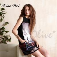 CHENG DA 春夏專櫃精品女裝時尚流行無袖洋裝 NO.680618