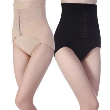 A+CourBe 經典透氣孔洞蕾絲排釦雕塑褲 2件組