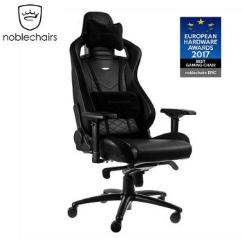 noblechairs 皇家EPIC系列 電腦椅/辦公椅/電競超跑椅-PU經典款-黑