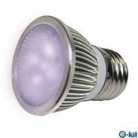 e-kit逸奇 高亮度 8w LED節能E27杯燈_紫光 LED-278C_P