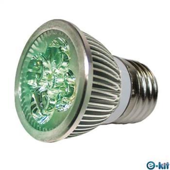 e-kit逸奇  高亮度 8w LED節能E27杯燈_綠光 LED-278C_G