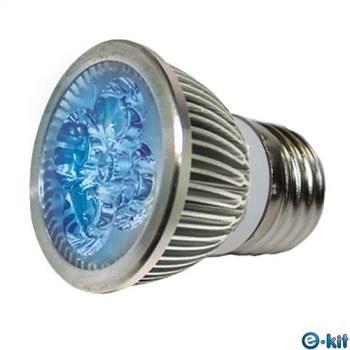 e-kit 逸奇 高亮度 8w LED節能E27杯燈 藍光 LED-278C_BU