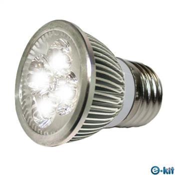 e-kit 逸奇 高亮度 8w LED節能E27杯燈 白光 LED-278C_W