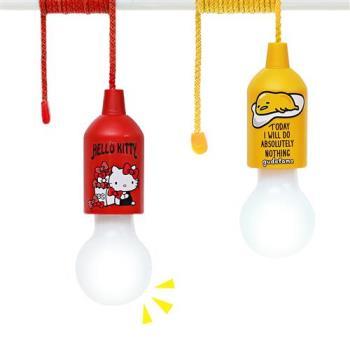 Hello Kitty / 蛋黃哥 LED拉拉燈 露營燈 小夜燈KT/GU-LED31(二入組)