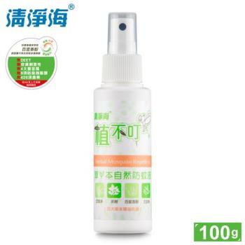 清淨海 植不叮草本自然防蚊液100g*6