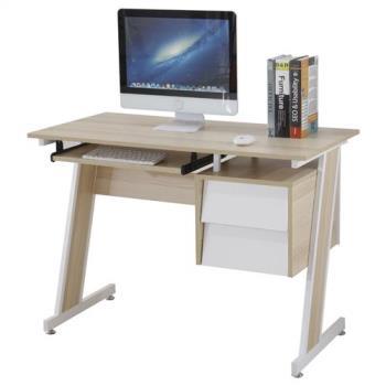 【AT HOME】史考特3.5尺梧桐二抽電腦書桌(105*55*75cm)