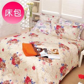 Novaya諾曼亞 墅內葵 絲光綿單人二件式床包組