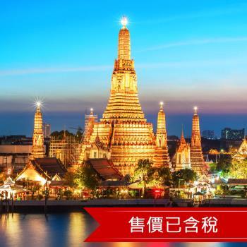 泰國曼谷莉庭薩通酒店自由行5+1日(含稅)旅遊
