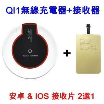 U-ta 附接收片 手機無線充電板QI1-平放式(通過NCC認證)