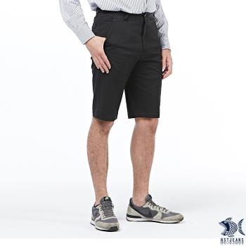 【NST Jeans】視覺原點 微彈斜口袋休閒短褲(中腰) 390(9431)