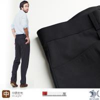 【NST Jeans】德意志黑 羊毛x萊卡 L口袋西裝褲(中腰) 391(6945) 平面/無打摺/年輕款式