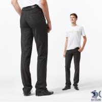 【NST Jeans】四面彈_普普風波卡小圓點 黑色休閒長褲(中腰) 390(5608)