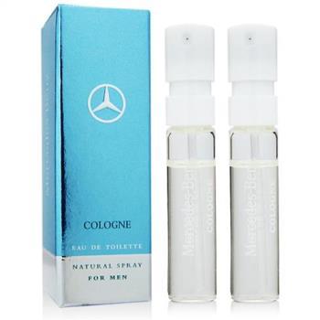 Mercedes Benz 輕晨曙光男性古龍水 針管1.5mlx2入