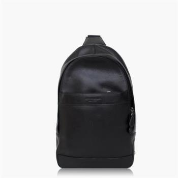 COACH 旅行必備 皮革 / 背包 / 後背包_黑色