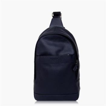 COACH 旅行必備 皮革 / 背包 / 後背包_深藍
