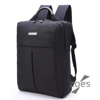 【Zoe s】KUSIM學院風15.6吋雙肩電腦後背包
