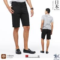 【NST Jeans】日本布料_經典Black暗條紋 短褲(中腰) 390(9436)