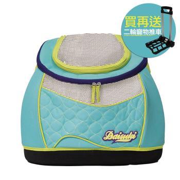 【Daisuki】玩具後背包小型寵物袋-外星人(CS03-MTB)