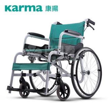 【康揚】鋁合金輪椅 飛揚100 手動輪椅