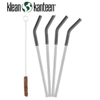 【美國Klean Kanteen】4入環保吸管-2組(含運)
