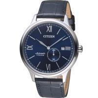 星辰CITIZEN GENTS 羅馬紳士鈦金屬機械錶  NJ0090-21L
