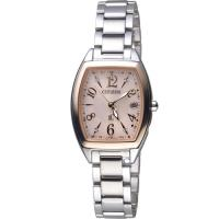 CITIZEN星辰xC系列獨具光彩時尚電波腕錶 ES9390-57W