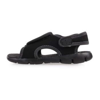NIKE SUNRAY ADJUST 4-TD男女嬰孩涼鞋-童鞋 涼鞋 黑白