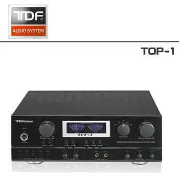 TDF 卡拉OK 綜合擴大機 TOP-1