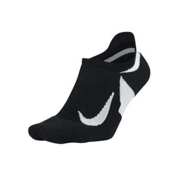 NIKE 精英緩震女短襪-慢跑 路跑 訓練 襪子 一雙入 黑白