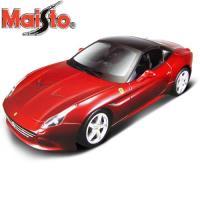 【Maisto】Ferrari California T 1:18合金組裝模型車(紅色)