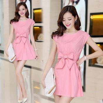 韓國KW 現貨奧黛麗赫本風大圓裙襬洋裝